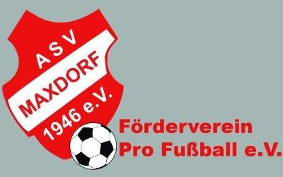 Neuwahlen beim Förderverein Pro Fußball